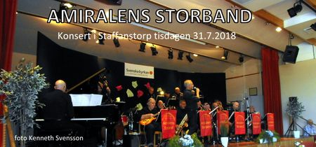 Amiralens Storband Staffanstorp 2018